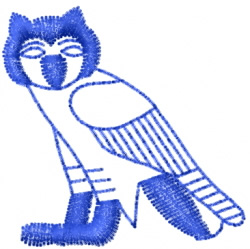 Owl 4 embroidery design