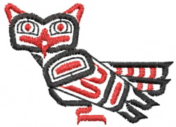 Owl 14 embroidery design