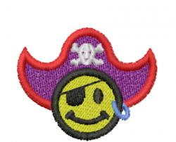 Pirate 1 embroidery design