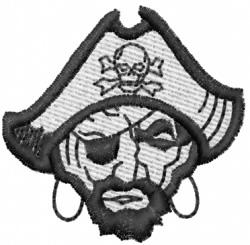 Pirate 2 embroidery design