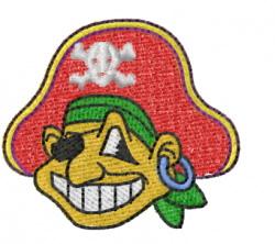 Pirate 10 embroidery design