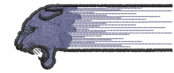 Panther 13 embroidery design