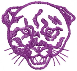 Panther 15 embroidery design