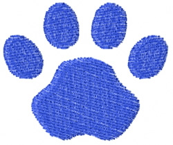 Pawprint 10 embroidery design