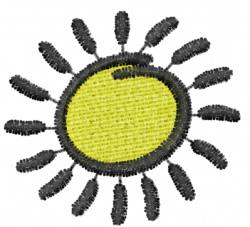 Sun 1 embroidery design