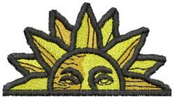 Sun 15 embroidery design