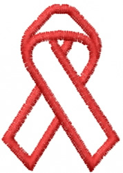 Awareness Ribbon 11 embroidery design