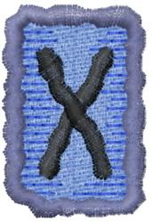 Rune G embroidery design