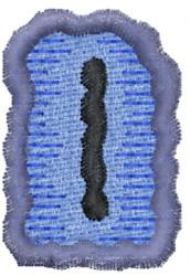 Rune I embroidery design