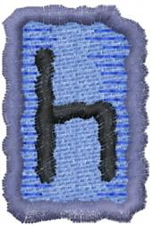Rune Q embroidery design