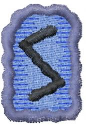Rune S embroidery design