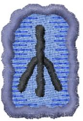 Rune Z embroidery design