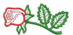 Rose 10 embroidery design