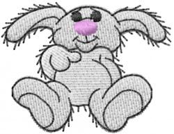 Rabbit 12 embroidery design