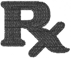 Pharmacy 9 embroidery design