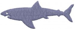 Shark 1 embroidery design