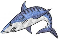 Shark 11 embroidery design