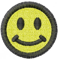 Smiley 1 embroidery design