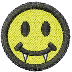 Smiley 2 embroidery design