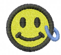 Smiley 13 embroidery design