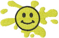 Smiley 29 embroidery design