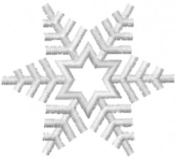 Snowflake 7 embroidery design