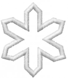 Snowflake 10 embroidery design