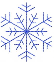 Snowflake 17 embroidery design