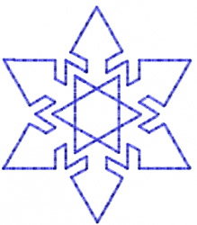 Snowflake 32 embroidery design