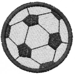 Soccer 1 embroidery design
