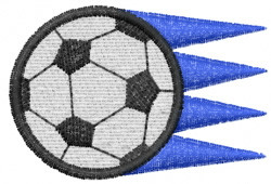 Soccer 10 embroidery design