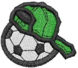 Soccer 15 embroidery design