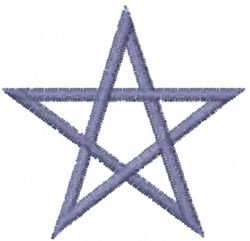 Star 2 embroidery design