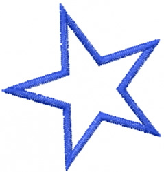 Star 18 embroidery design