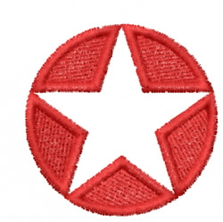 Star 21 embroidery design