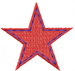 Star 24 embroidery design