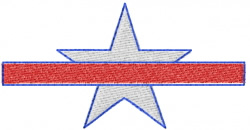 Star 26 embroidery design