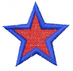 Star 28 embroidery design