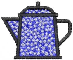Teapot 1 embroidery design