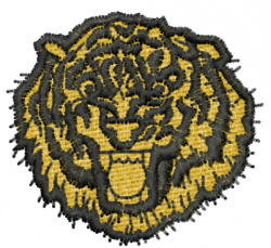 Tiger 9 embroidery design