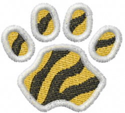 Tiger 10 embroidery design