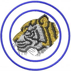 Tiger Head 1 embroidery design
