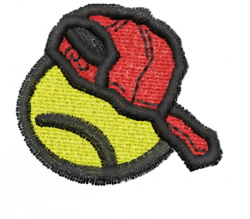 Tennis 1 embroidery design