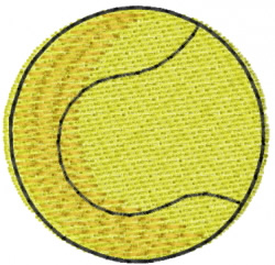 Tennis 2 embroidery design