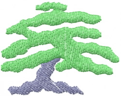 Tree 3 embroidery design