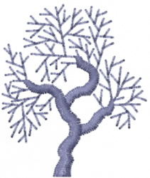 Tree 14 embroidery design