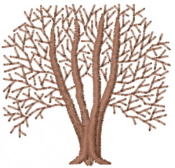 Tree 22 embroidery design