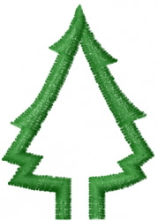Tree 27 embroidery design