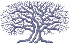 Tree 28 embroidery design