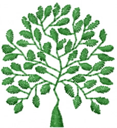 Tree 30 embroidery design